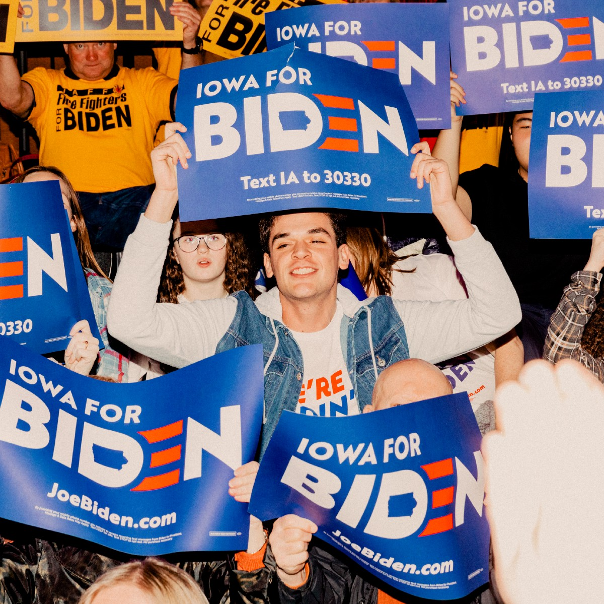 What It's Like to be Young and Fired Up for Joe Biden