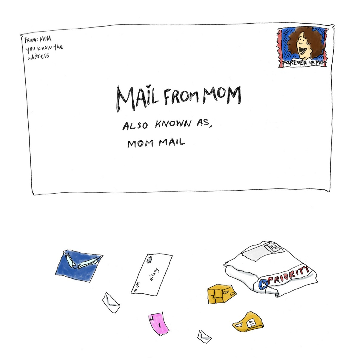 An Ode to My Mom's Miracle Care Packages