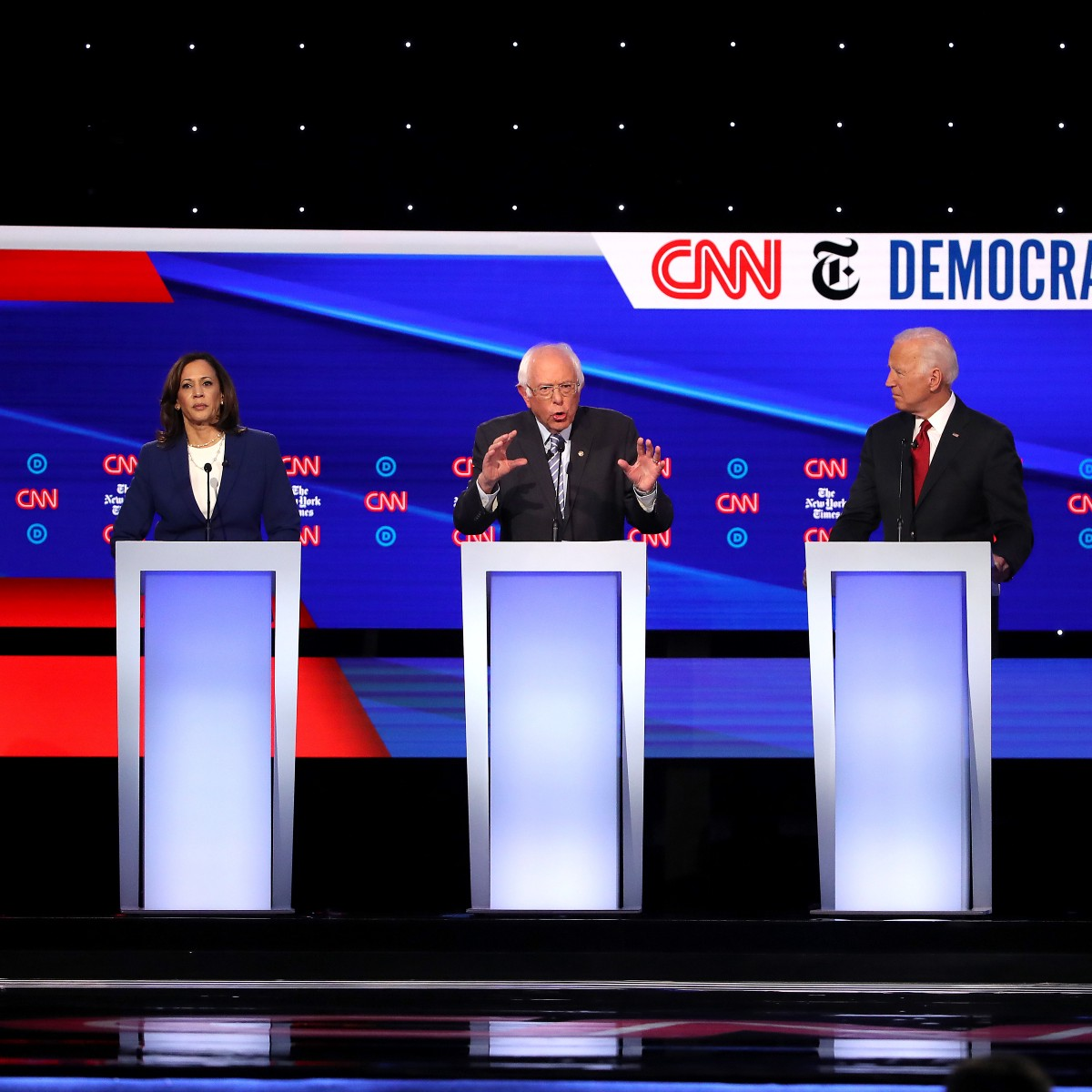 Which of the Democratic Contenders Are Actually Republicans?