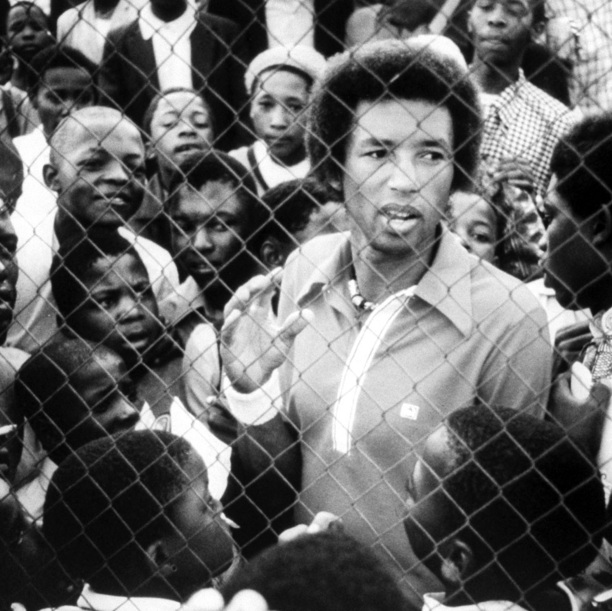 When Arthur Ashe fought to play tennis in apartheid South Africa, he faced bitter criticism