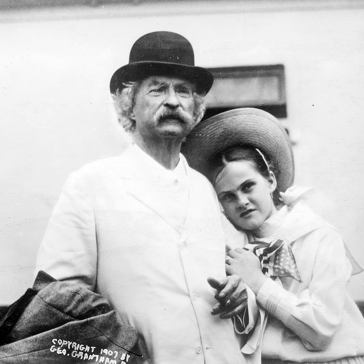 Starting in his seventies, Mark Twain began the creepy hobby of 'collecting' young, innocent girls