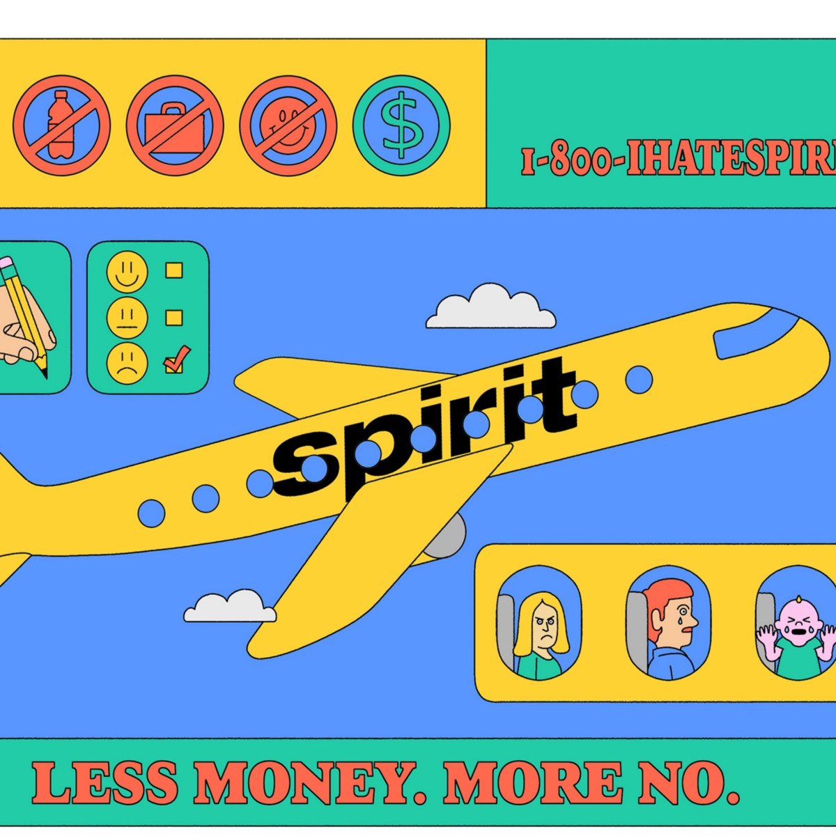 The Curious Case of How Spirit Airlines Actually Makes Lots of Money