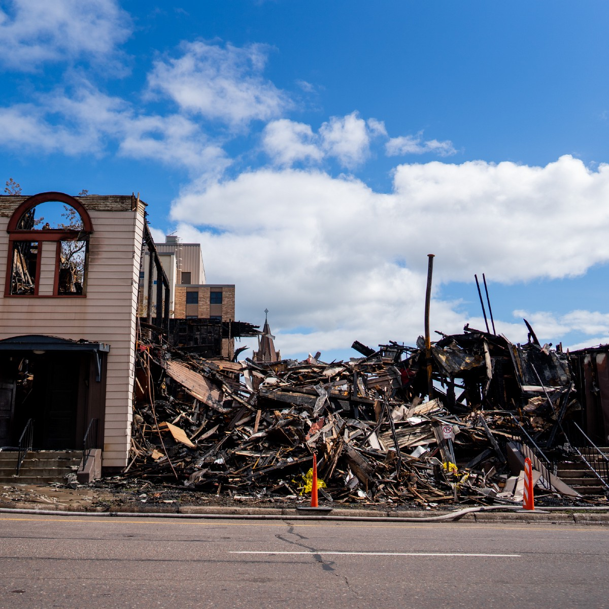 My Family's Synagogue Was Burned Down. How Is This Not a Hate Crime?