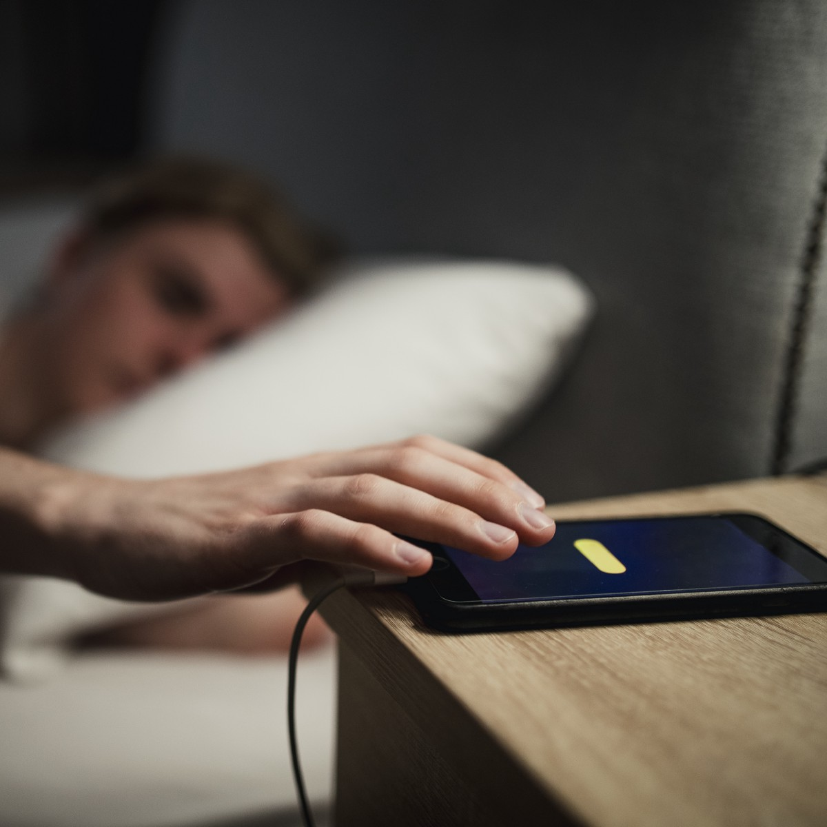 Image result for This is the distance that should exist between you and your phone when you're about to sleep