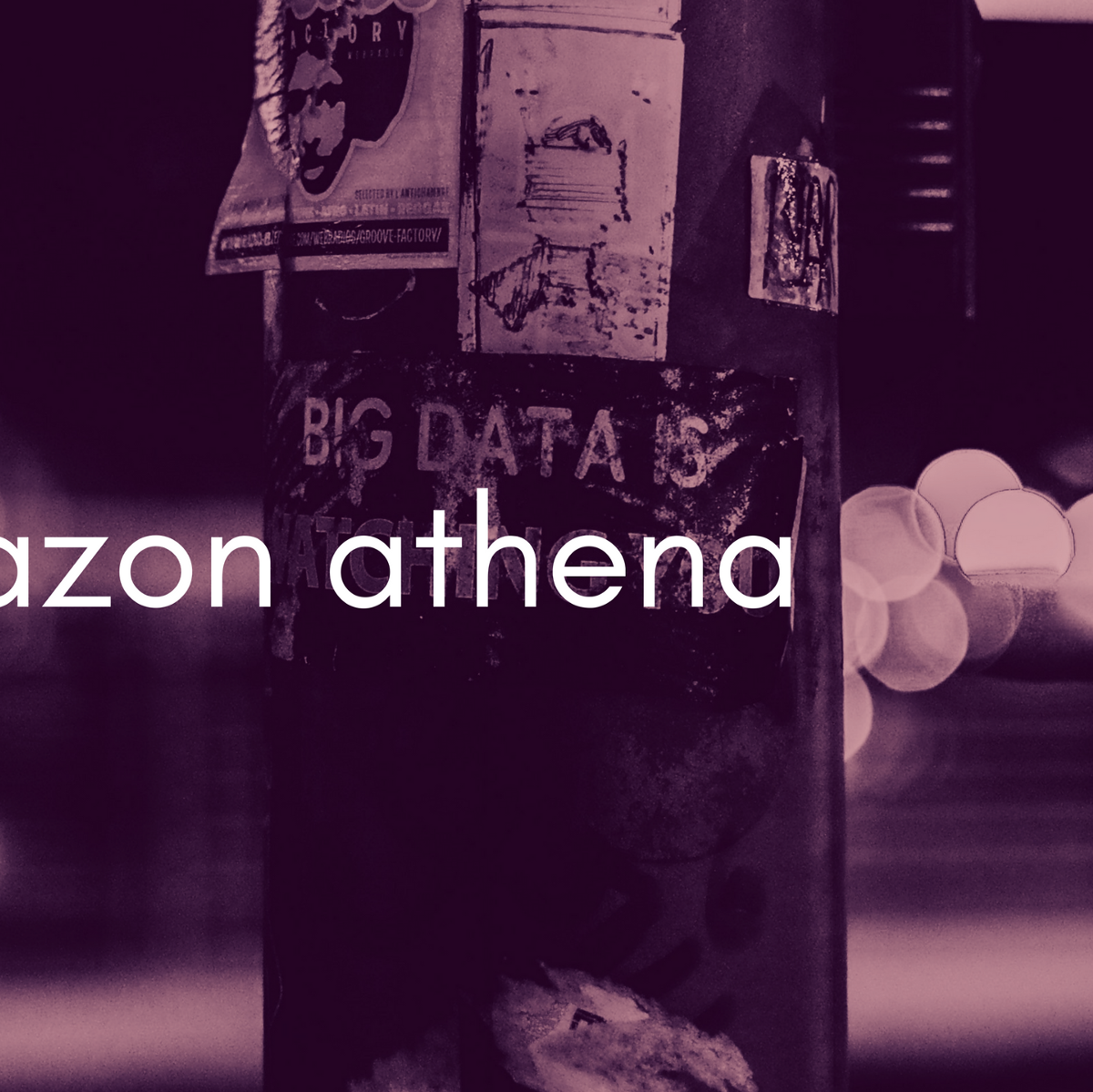 How we built a big data platform on AWS for 100 users for