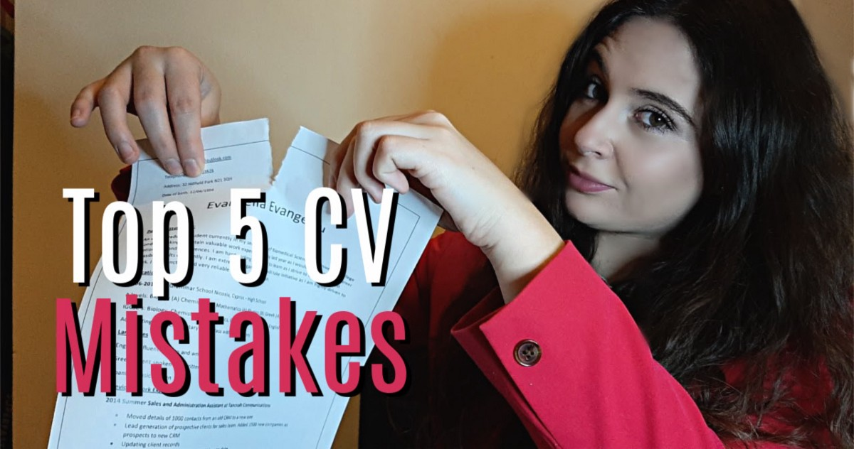 Top CV Mistakes You Didn't Know You're Making