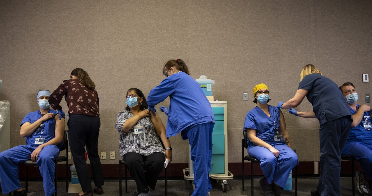 Stay Focused: We're This Close to Ending the Pandemic