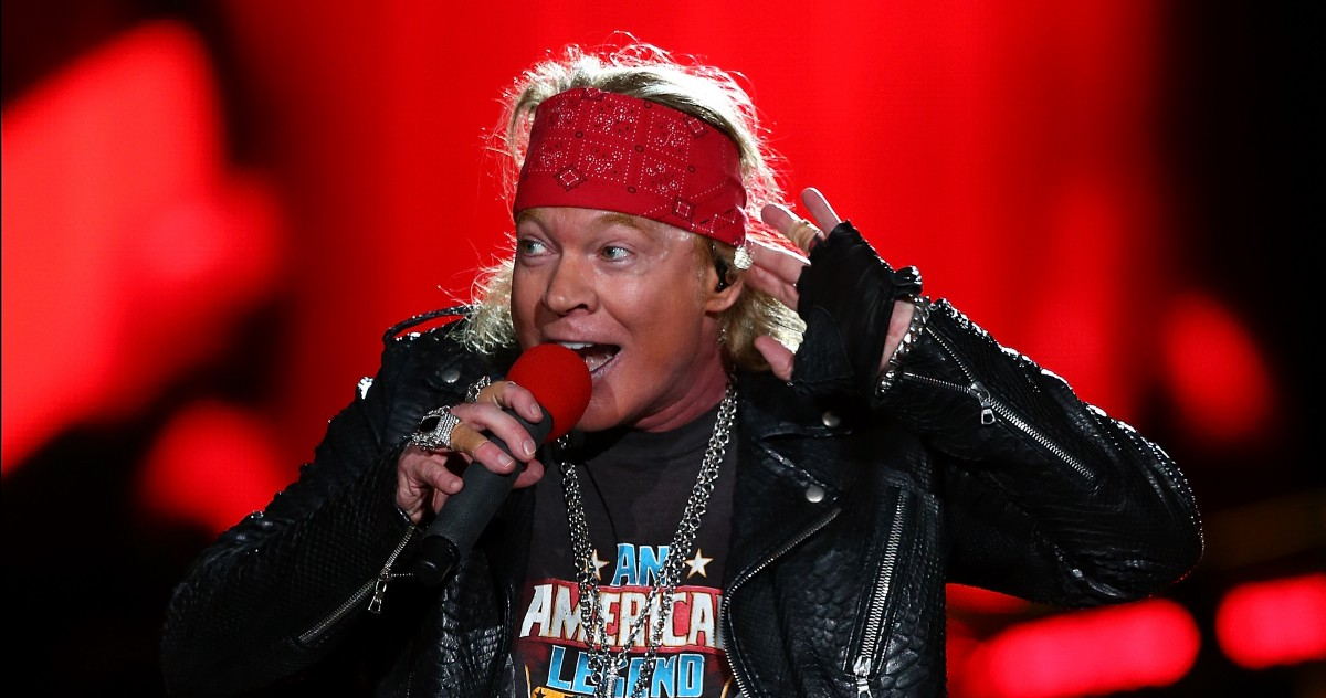 Axl Rose Is a Voice of Reason and I Have No Clue What to Make of It