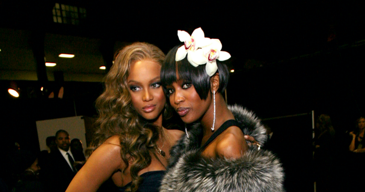 When Tyra Banks Confronted Naomi Campbell On National Television