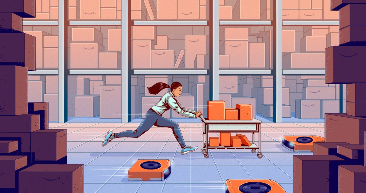 """Warehouse Worker: """"I Don't Have Energy to Do Much Else Aside From Amazon."""""""