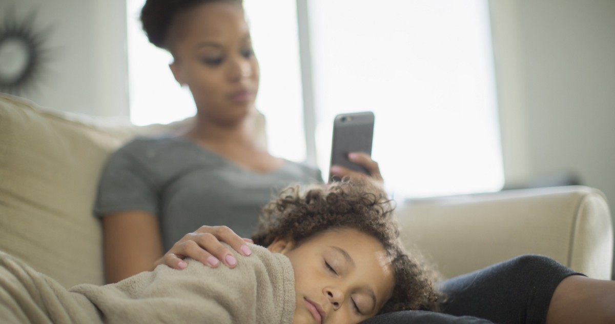 Don't Let Your Phone Get Between You and Your Child