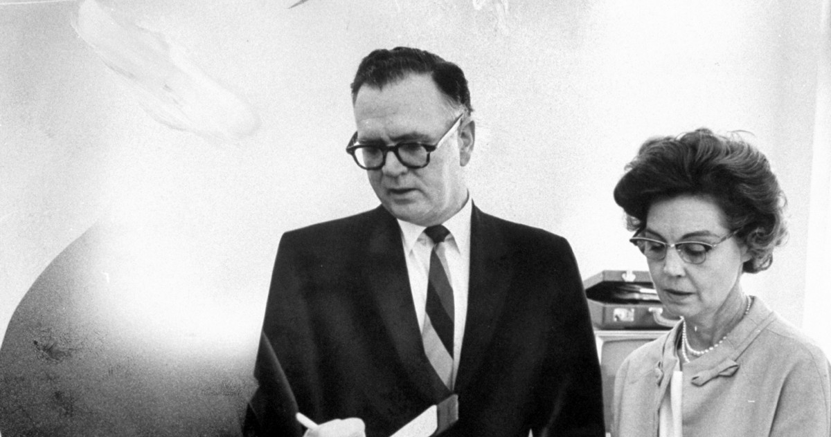 When LBJ's closest aide was caught in a gay sex sting, the president