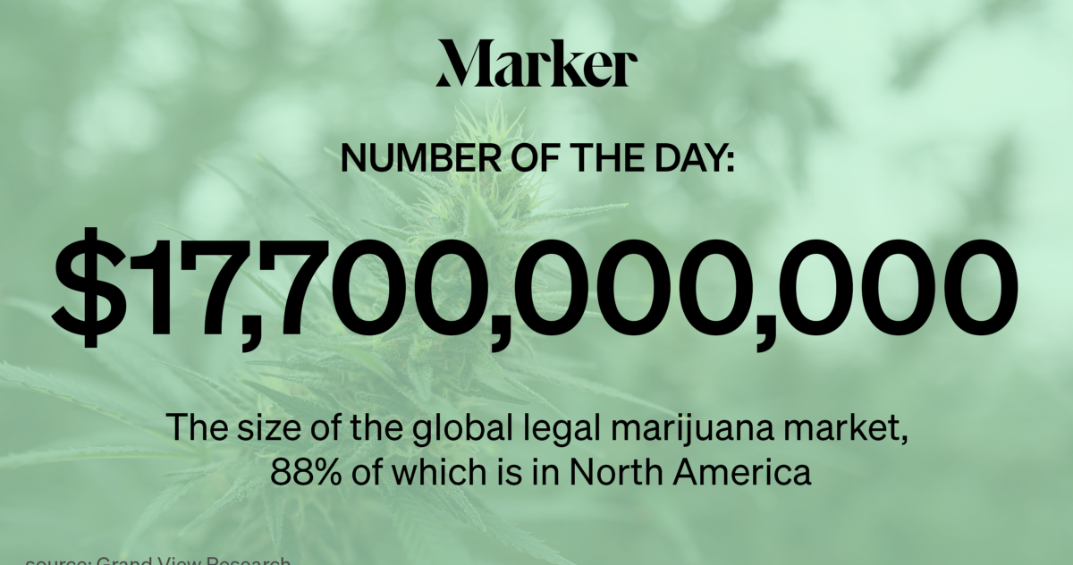 The Legal Marijuana Industry Reaches New Highs, by the Numbers