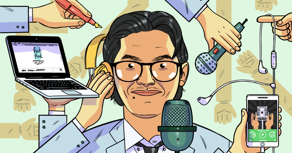 How a Malaysian Immigrant in Idaho Became the Go-To Expert on Podcasting