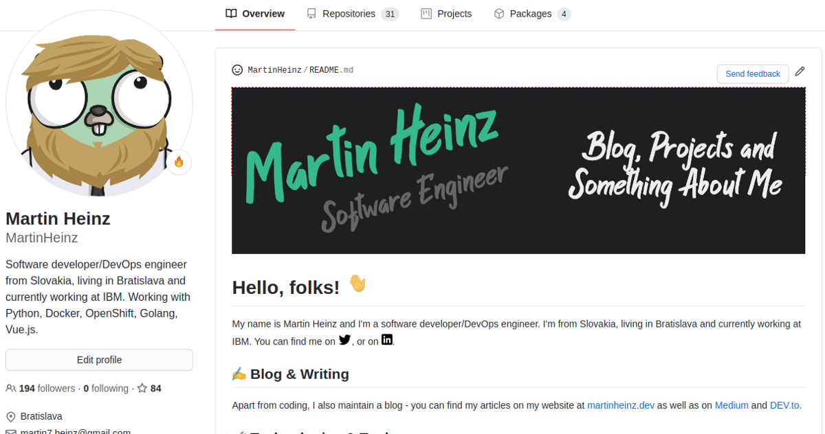 Build a Stunning README For Your GitHub Profile