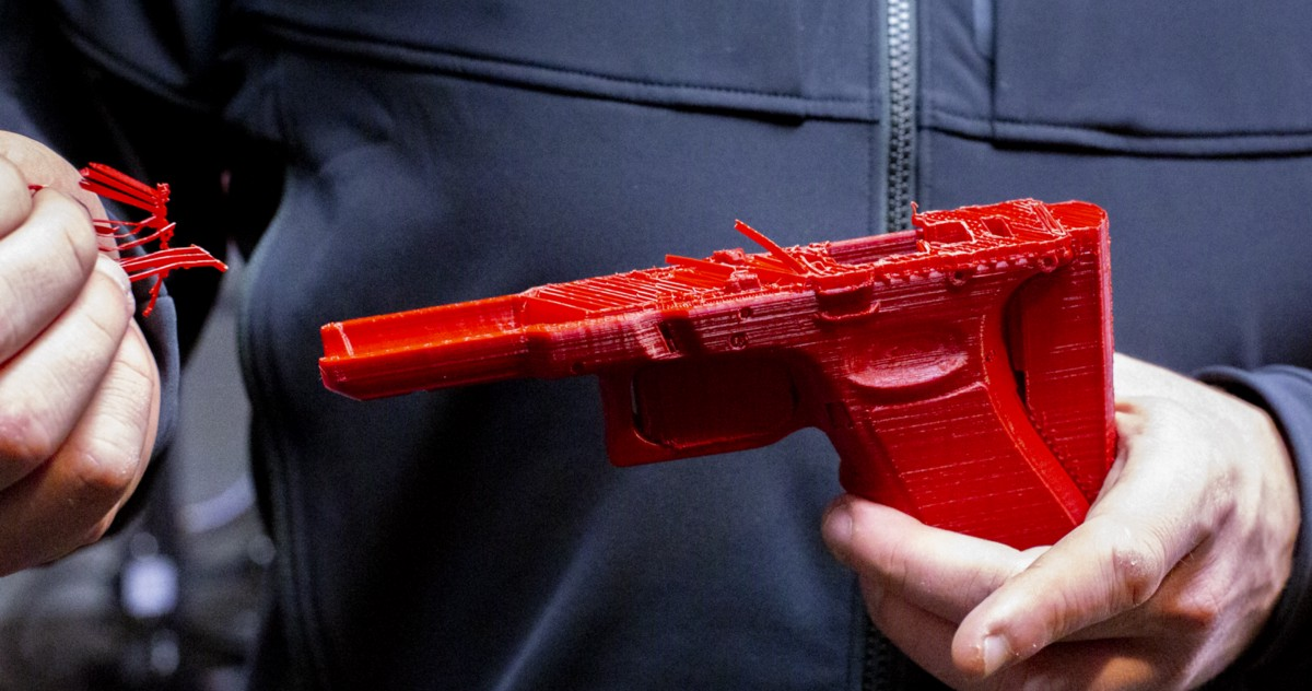 The 3D-Printed Gun Isn't Coming. It's Already Here.