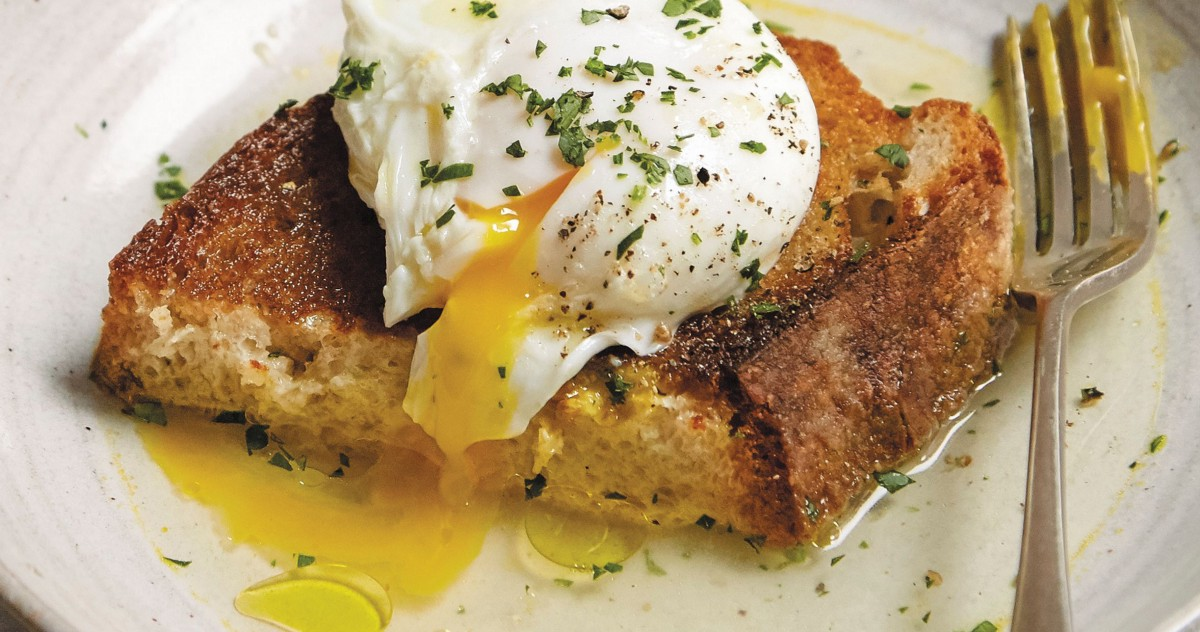This Broth-Poached Egg on Toast Is Perfect for Breakfast Anyday