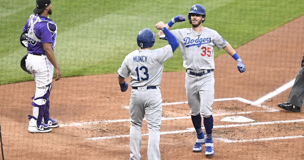 Dodgers explode for 15 runs as the lefties get going in Colorado