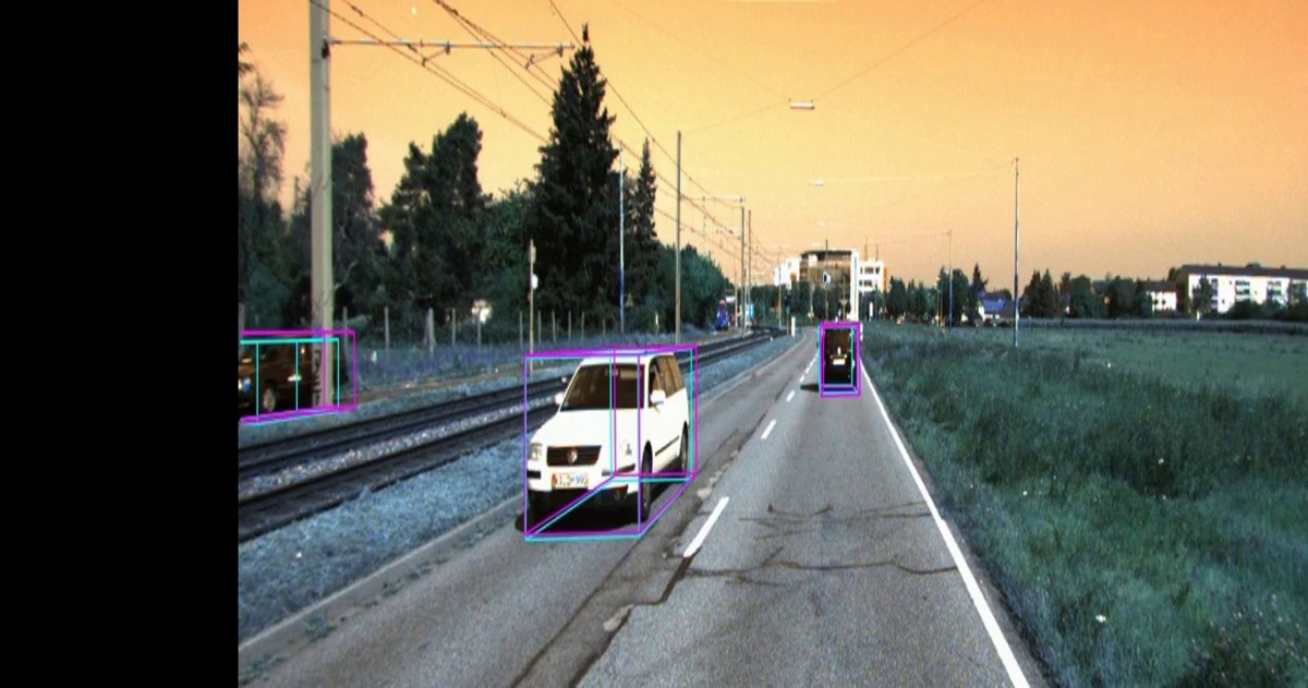 LiDAR point cloud based 3D object detection implementation with colab