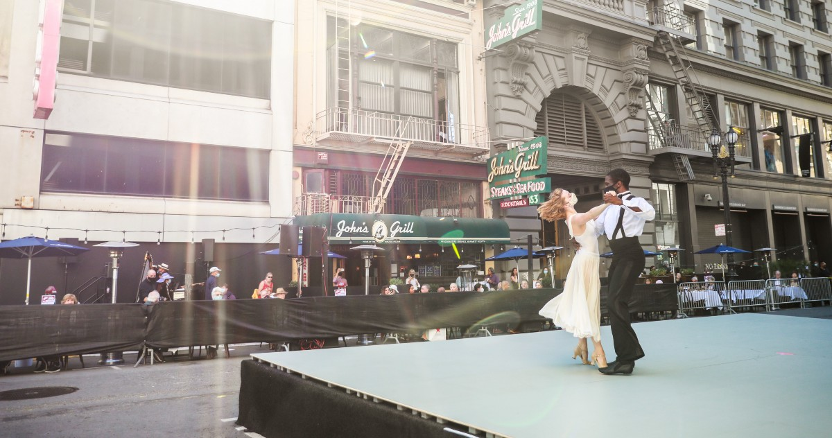 A Pandemic Show: Ballet in the Middle of a San Francisco Street