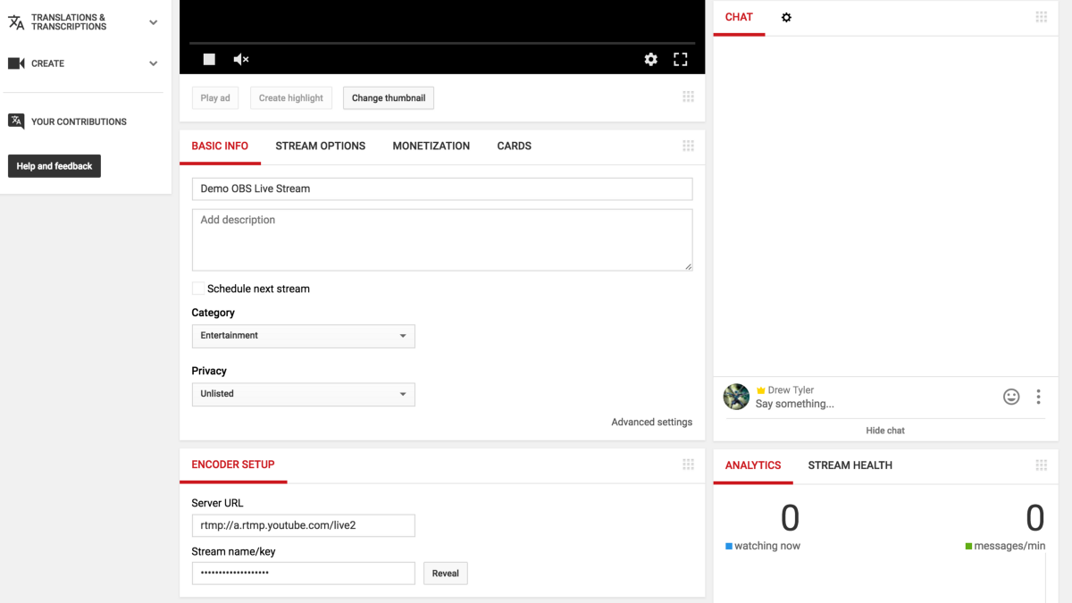 Easy Steps to Connect OBS to YouTube Live - Go Live! - Medium