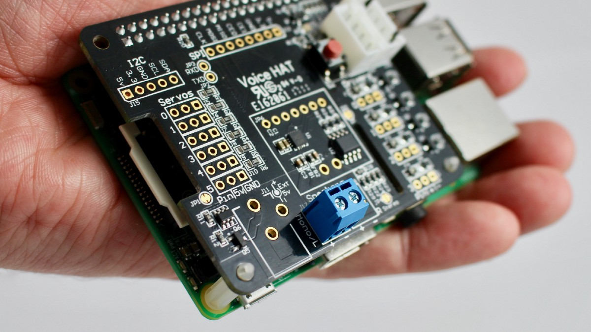 Hands on with the AIY Projects Voice Kit - Alasdair Allan