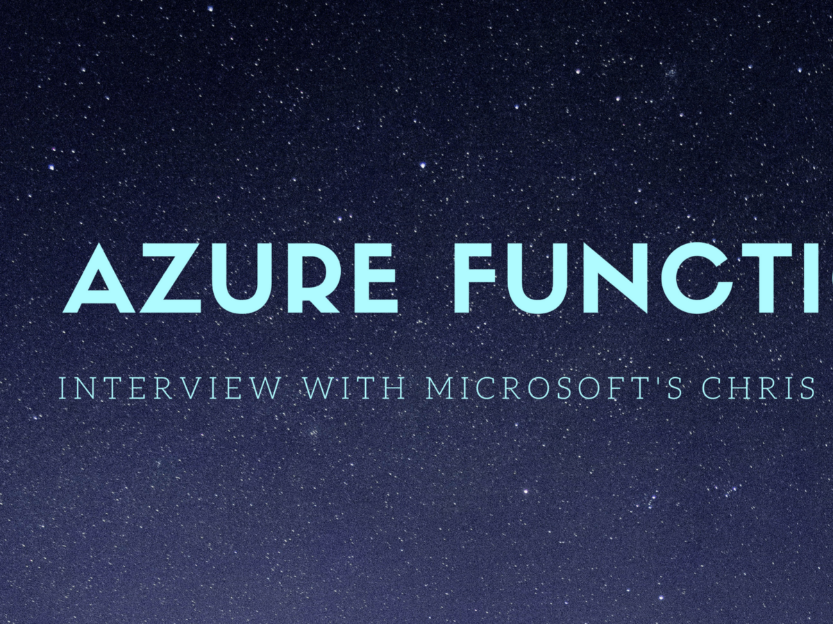 Azure Functions wants to make it easy for developers to get