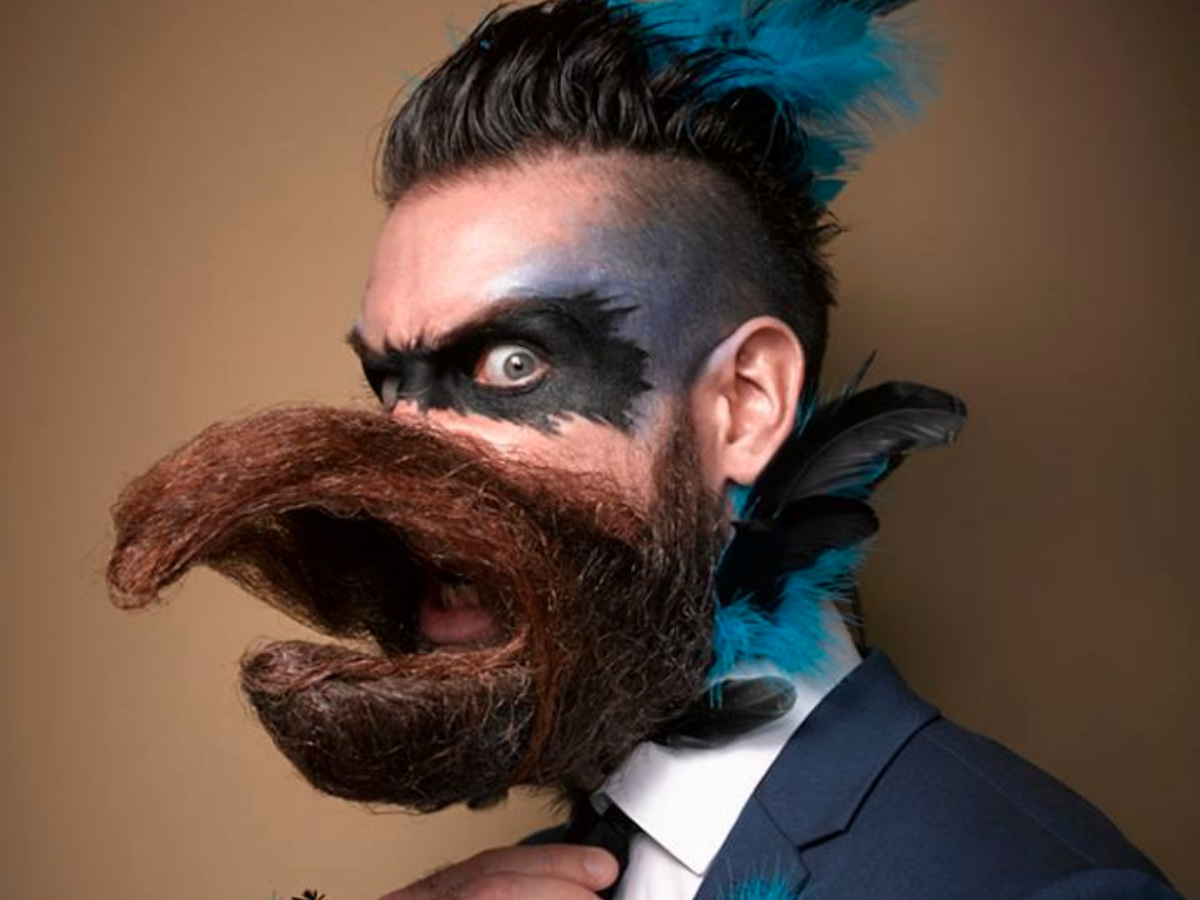 Admirable The Best Beardiest Moments From The National Beard And Moustache Natural Hairstyles Runnerswayorg
