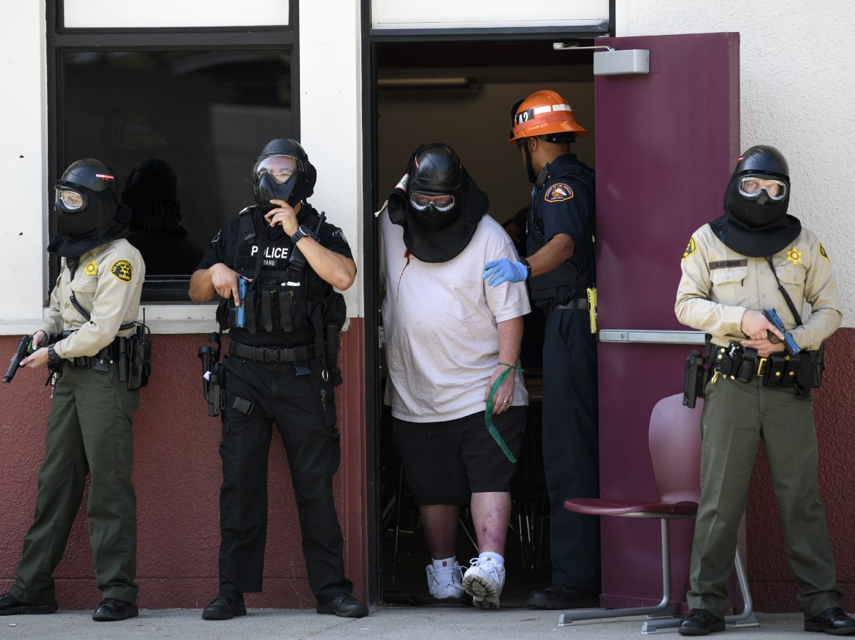 How Active Shooter Drills Became a Big (and Possibly
