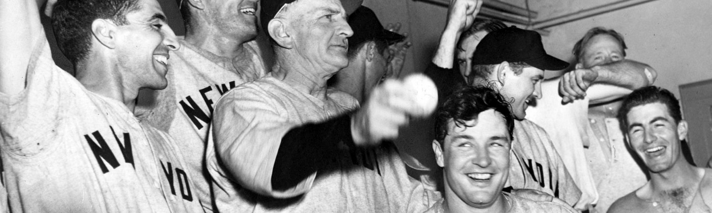 The New York Yankees celebrate another World Series championship. Sound familiar? It sure does to many of these opponents…
