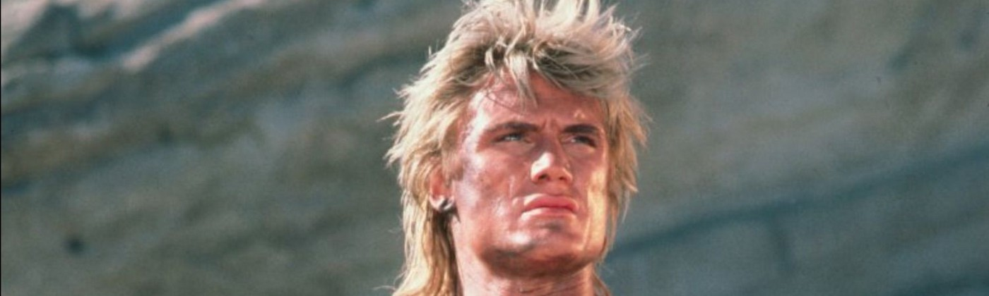 Actor Dolph Lundgren as He-Man in the movie 'Masters of the Universe'