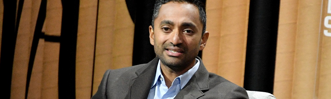 "Founder/CEO of Social Capital, Chamath Palihapitiya, speaks onstage during ""The State of the Valley: Where's the Juice?"" at t"