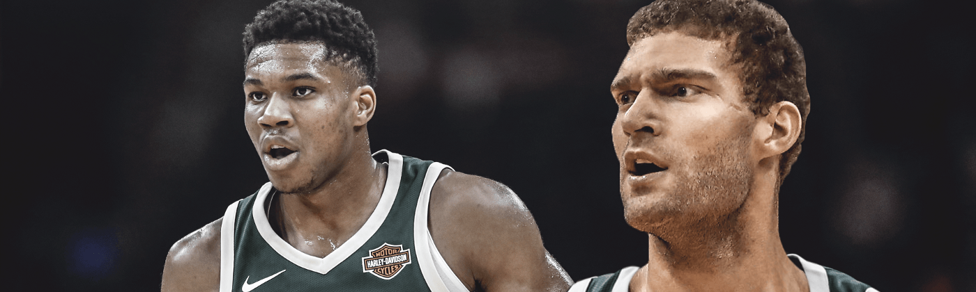 Giannis Antetokounmpo and Brook Lopez lead a historically good defense in Milwaukee. Should one of them be the 2020 DPOY?