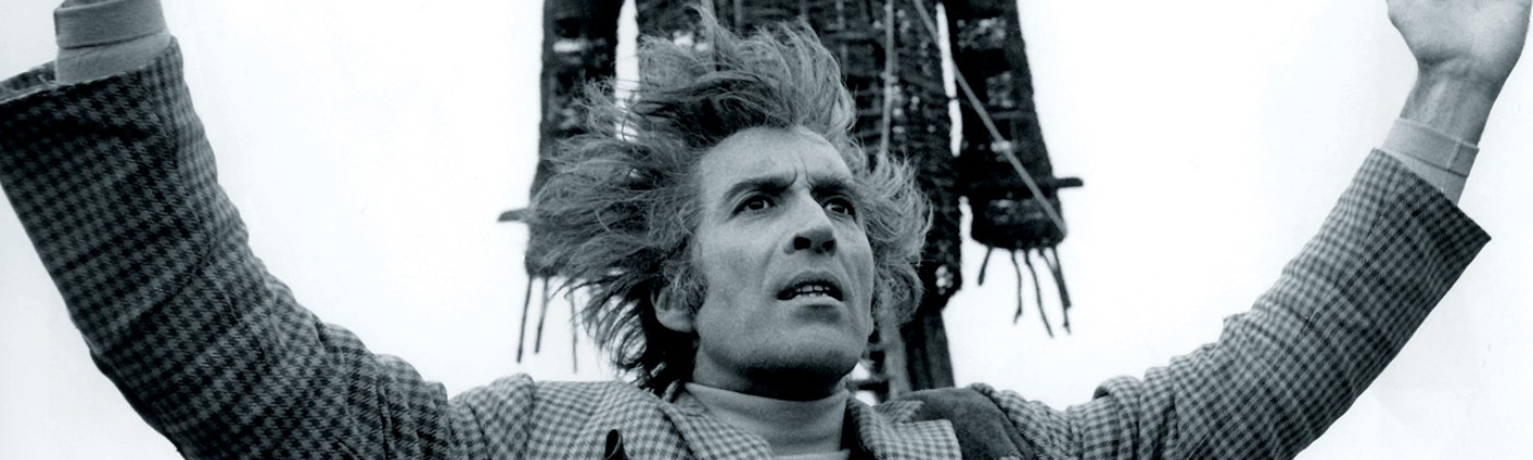 Christopher Lee as Lord Summerisle in the classic film, The Wicker Man