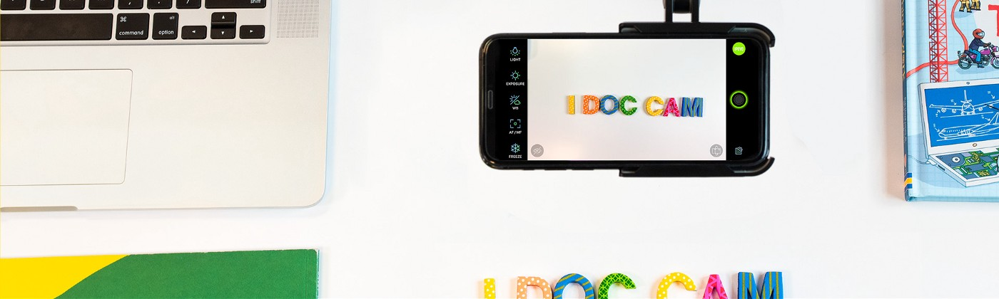 Using IPEVO's iDocCam for remote learning