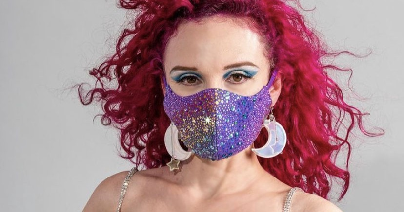 These Glitter-Bombed Face Masks Will Make Your 2021 More Fabulous