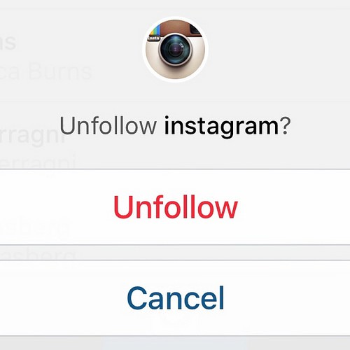 Why I Unfollowed You on Instagram - Ian C Rogers - Medium