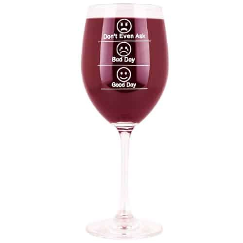 State of Mind Wine Glass wine glass relaxation stress free gift iwantthisandthat2