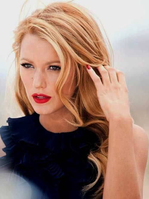 Blake Lively has been seen rocking strawberry blonde looks
