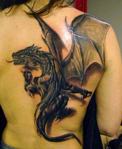 20 Mystical Dragon Tattoos and Their Meanings - Noteworthy - The