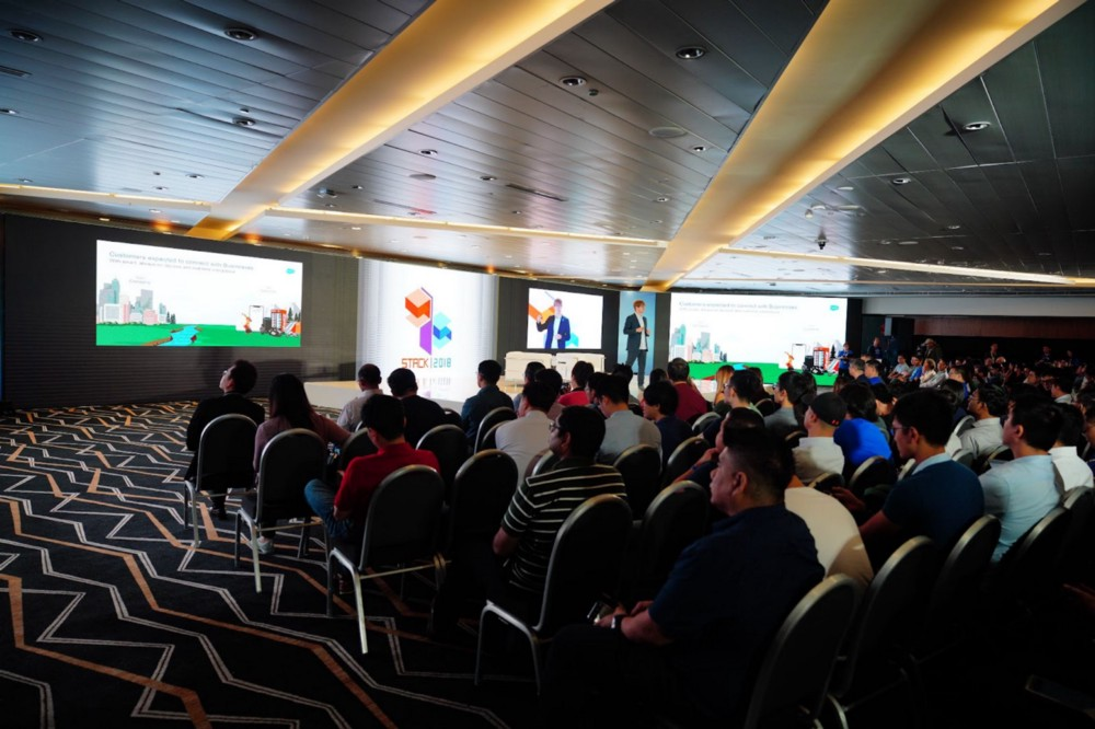 STACK 2018: Speakers and our audience from the tech community in Singapore and beyond.