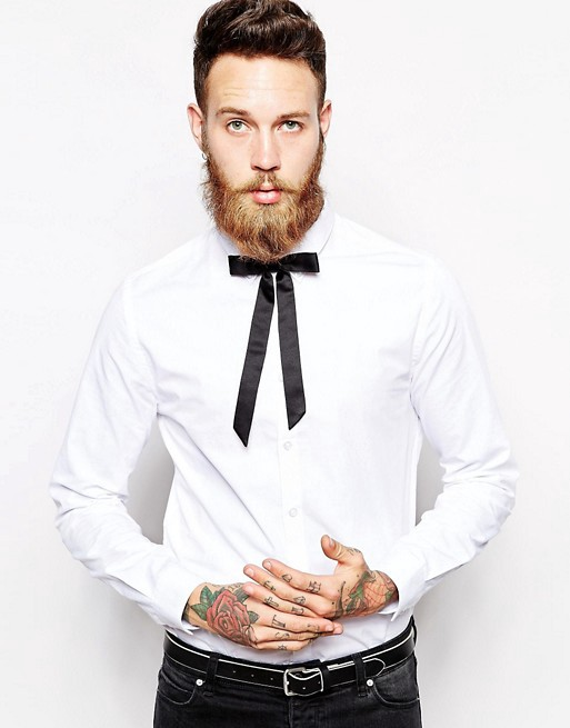 e5ee27ca3 They can be worn with a suit as well as with a pair of jeans. The skinny tie  adds style and class to any outfit.
