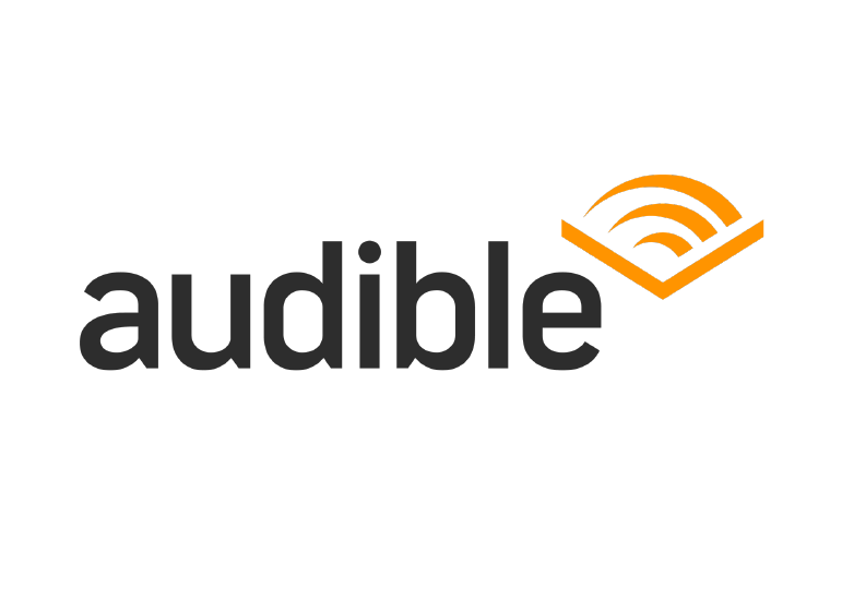 Thanks to Audible, Wazers can listen to audiobooks on the road.