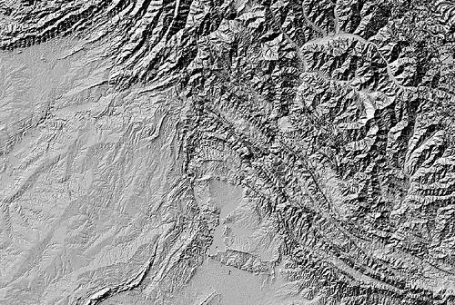 Creating Hillshades and Color Relief Maps Based on SRTM Data