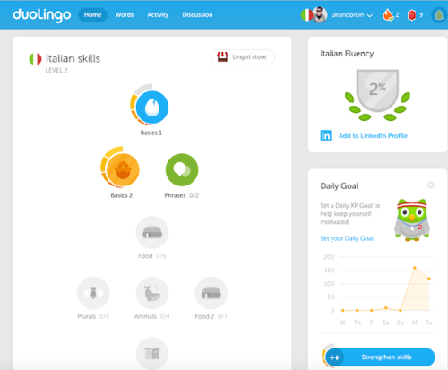 Duolingo: User Experience Storyteller's Dream - localization