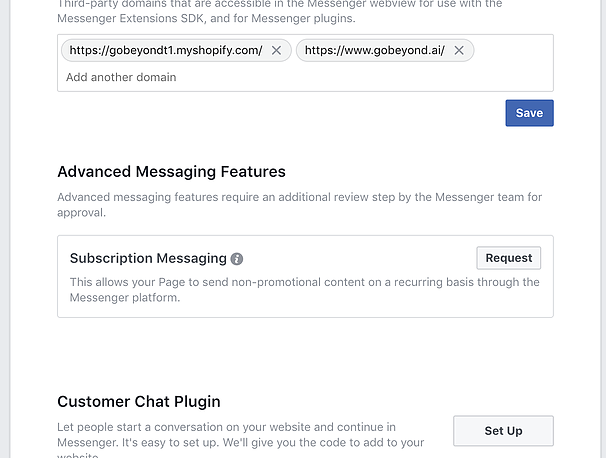 How to Add Facebook Messenger Plugin to your Shopify Store
