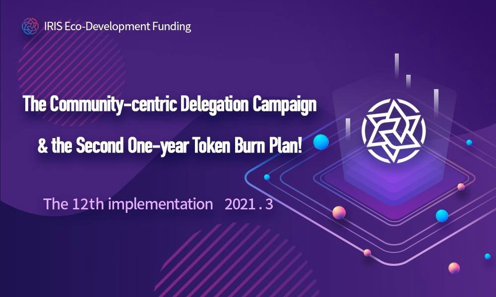 The 12th Implementation of the Community-centric Delegation Campaign & the Second One-year Token…
