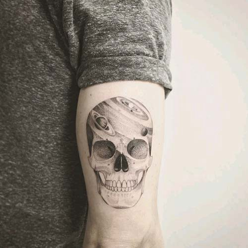 Men S Awesome Upper Arm Tattoo Models Tattolover Medium