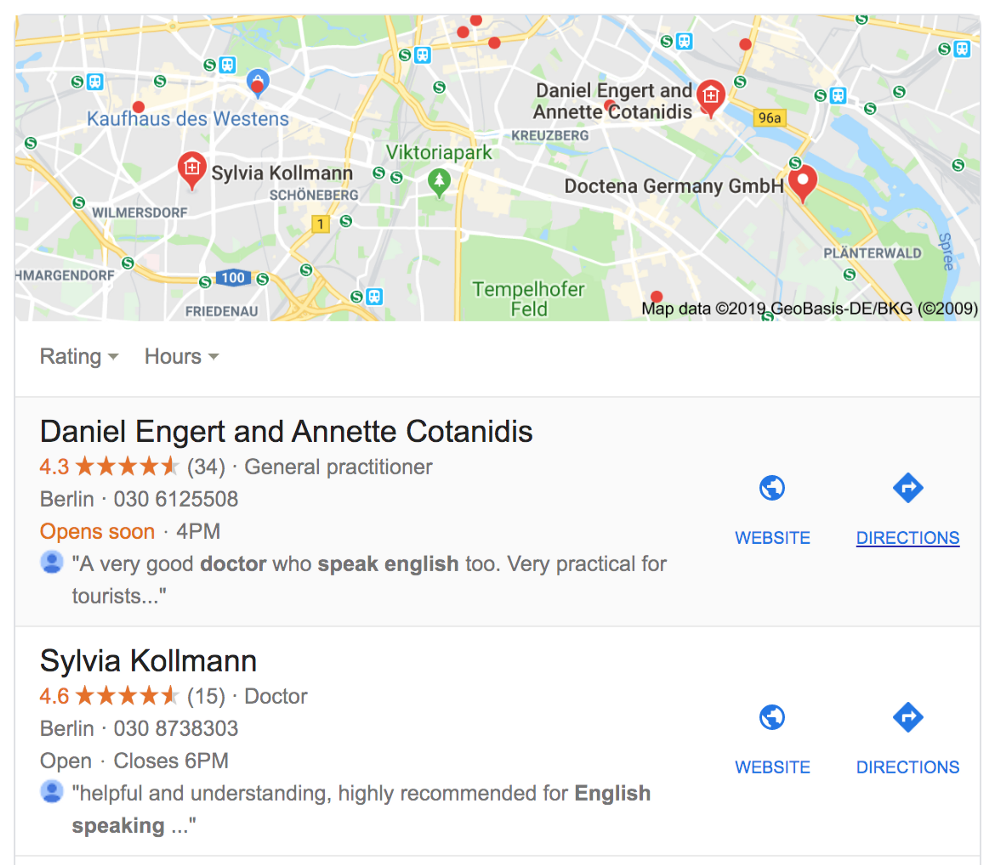 How to find an English speaking doctor in Germany.   by Kyle Ponce ...