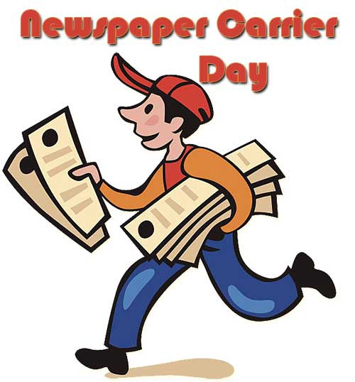 Newspaper Carrier Day